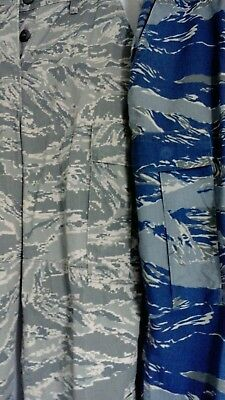 US Air Force Prototype Tiger Stripe Camouflage Pants with Air Force Logo Imprint