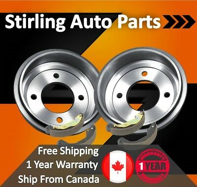 2011 2012 2013 2014 Jeep Compass Coated Brake Drum and Shoes