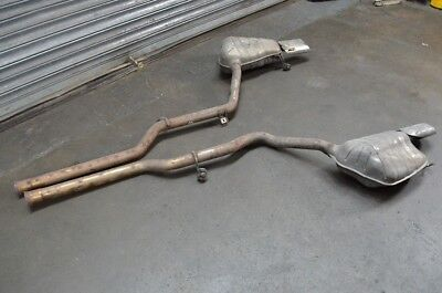 Mercedes W207 E350 Cdi Coupe Pair Of Exhaust Back Boxes Tail Pipes 2009-2013