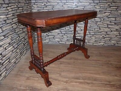 Stunning Antique Victorian Mahogany Bobbin Hall, Occasional, Console, Side Table