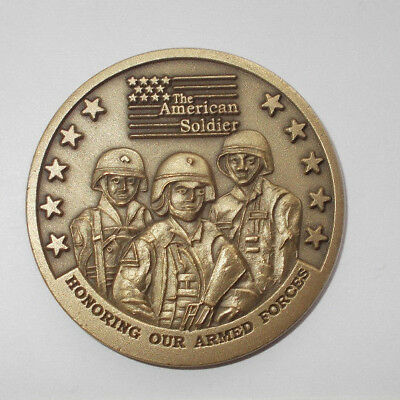 US Coin The american soldier honoring our armed forces army navy marines af cg