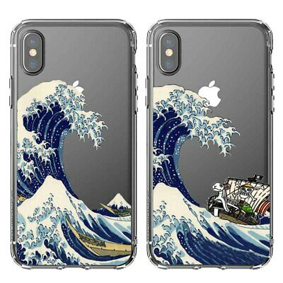 The Great Wave off Kanagawa Silicone phone Case For iphone X 6s/7/8 Plus 5s 5c 4