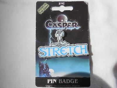 RARE '95 Casper the Friendly Ghost STRETCH Pin by Dufort & Sons made in the UK