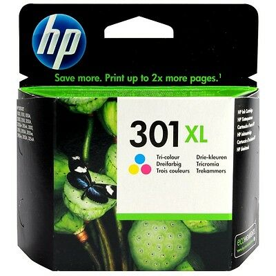Original HP301XL color Druckerpatrone Tintenpatrone (CH564EE)