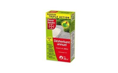 Desherbant Anti Germinatif Systemique Annuel Cours Allees 250Ml 205 M² Bayer