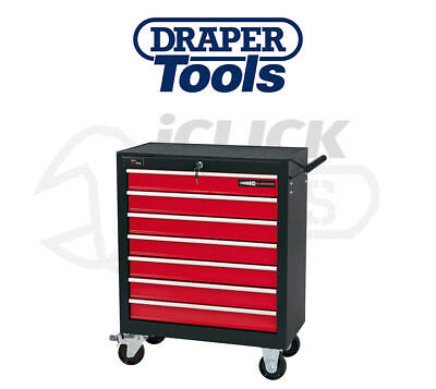 Draper 80601 7 Drawer Roller Cabinet Tool Storage Chest for Hand/Garage Tools