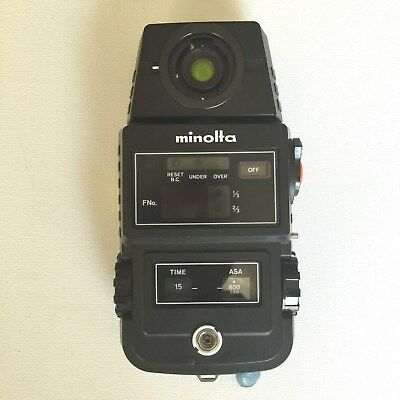 Minolta Flash Meter II, serial # 114784, Minolta Camera Co., LTD. Japan
