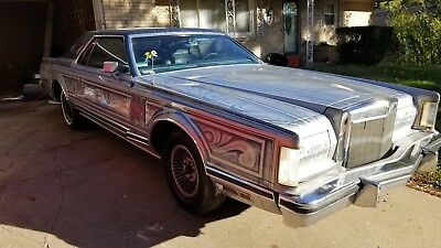 1977 Lincoln Continental Cartier Lincoln Continental Mark V 460 V8 Cartier C6 transmission Sunroof Leather