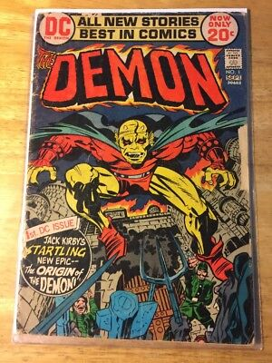 The Demon #1-9 (Aug-Sep 1972, DC) First Appearance Etrigan And Klarion