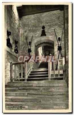VINTAGE POSTCARD Dover Castle Stairs Interior Of Keep