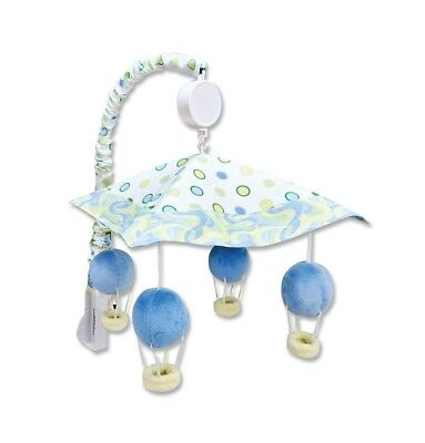 "Trend Lab Dr. Seuss Musical Mobile for Baby Crib ""Oh, the Places You'll Go"" Blue"