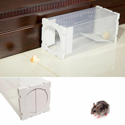 2x PROFESSIONAL RODENT BOX RAT MICE MOUSE Pest-Stop Systems Trip Trap Humane