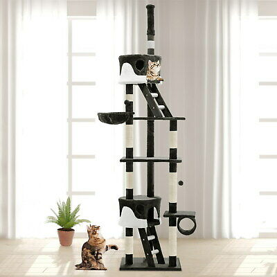 iPet Cat Tree Scratching Post Condo Scratcher Tower House Furniture Tall Trees