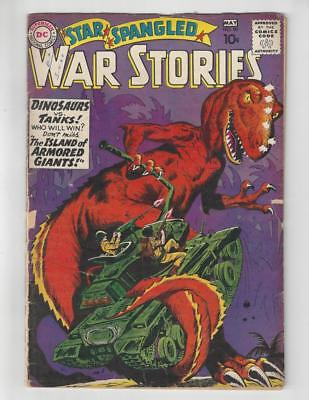 Star Spangled War Stories #90/Silver Age DC Comic Book/1st Dinosaur Issue/GD-