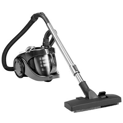 Bagless Cyclone Vacuum Cleaner Cyclonic Power Suction HEPA Dust Filter Blk 2800W