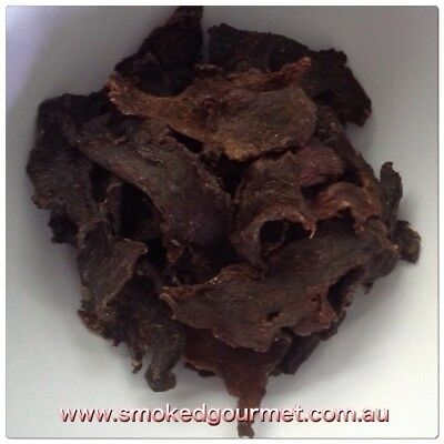 Smoked Gourmet All Natural Premium Beef Jerky 500g NITRATE & GLUTEN FREE