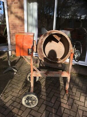 used petrol cement mixer
