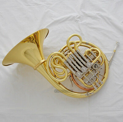 Professional QUALITY Double French Horn Cupronickel Tuning Pipe F/Bb 103 Copy