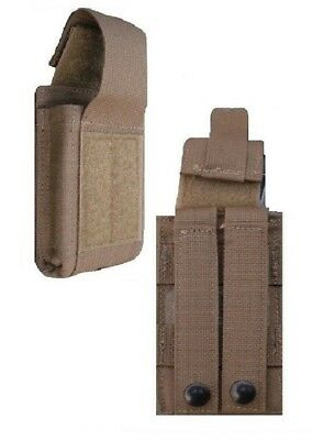 New Coyote .223 & 5.56 Single USMC Marine Corps Speed Reload Magazine Mag Pouch