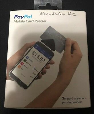 PayPal Here Mobile Credit Card Reader Swipe - iPhone/Android
