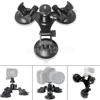 Suction Cup Mount Tripod with 1/4 Threaded for GoPro Hero Action Dslr Camera