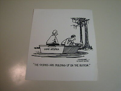 Ralph Dunagin Editorial Cartoon - undated Original Art - Lake Apopka