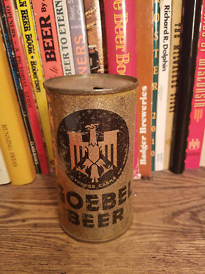 Goebel 12oz Flat Top Beer Can  Opening Instructions & IRTP