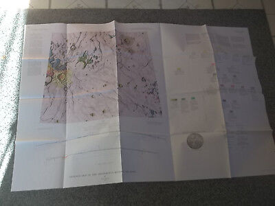 NASA Geological Map of the Aristarchus Region of the Moon 1965 I-465