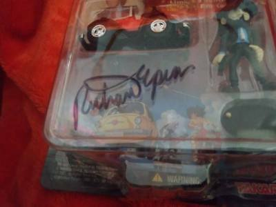 Autographed! Lupin the 3rd Third Limited Edition Chromo Choro Q Figure #4car set