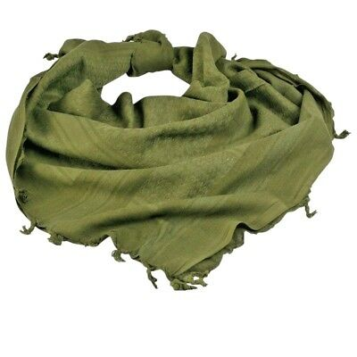 20a41a22407c 100% coton militaire grade SHEMAGH Foulard Keffieh Sniper voile vert olive
