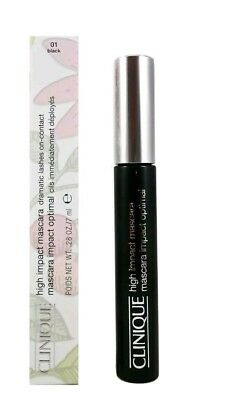 0c9e5a4a1c8 CLINIQUE HIGH IMPACT Waterproof Mascara Black FULLSIZE 0.28OZ 8ML ...