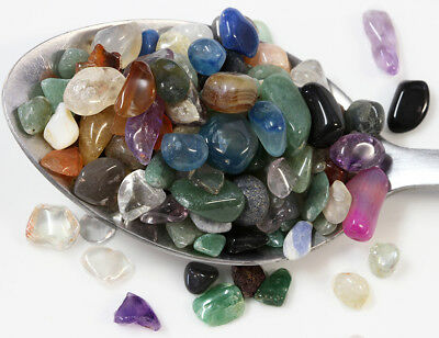 FAIRY CRYSTALS MIXED 15g Approx 50 tiny stones 5-10mm in size *BARGAIN PRICE*