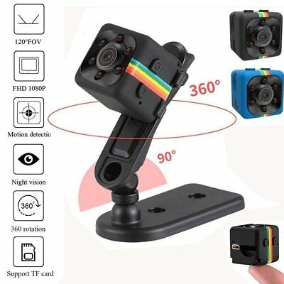 SQ11 /SQ8 Mini Camera HD Camcorder Night Vision 1080P Video Recorder DV Cam NEW