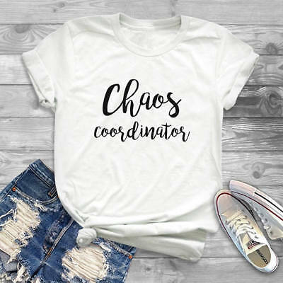 f0033bf8af5e Chaos Coordinator T-Shirt Women's Clothes tshirt Funny t shirt tops tees