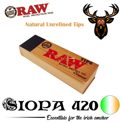 RAW Roach Book | RAW Original Tips | Chlorine Free Filter Tips / Roach Book