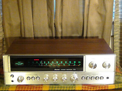 Vintage Sansui 771 Stereo Receiver - great condition, tested and works well! NR!