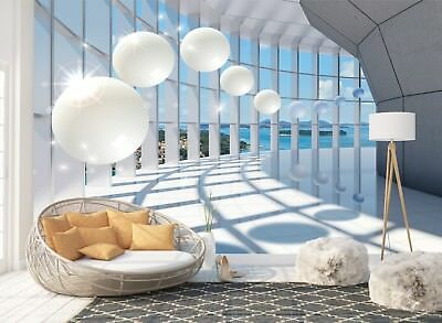 Wall Mural Photo Wallpaper Picture EASY-INSTALL Fleece 3D Perspective Tunnel New