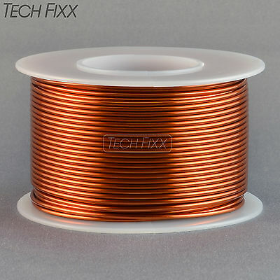 Magnet Wire 18 Gauge AWG Enameled Copper 92 Feet Coil Winding and Crafts 200C