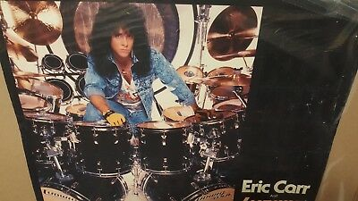 Eric Carr KISS Ludwig drum promo poster