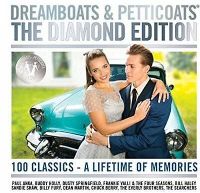 Dreamboats and Petticoats The Diamond Edition Album 2017 (New Box Set 4 Disc CD)