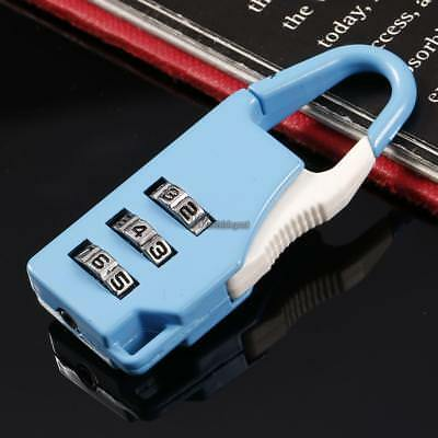 3 Combination Number Luggage Case Bag Security Travel Suitcase Padlock WT88 03