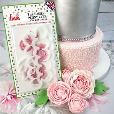 FMM - 'The Easiest Peony Ever' Cutter Set (Includes leaf cutter)