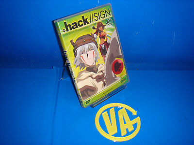 Pelicula  anime DVD-HACK//SIGN- 1  buen estado