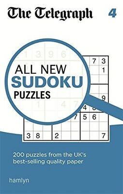 The Telegraph All New Sudoku Puzzles 4 (The Telegraph Puzzle Books) - New Book T