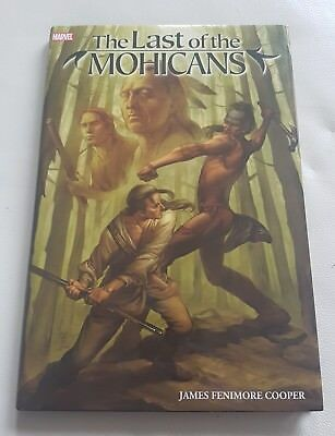 Marvel The Last of the Mohicans, James Fenimore Cooper, hardback, graphic novel