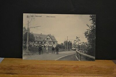 Cp  Ancienne Carte Postale Spa - Balmoral - Hotel-Restaurant 2