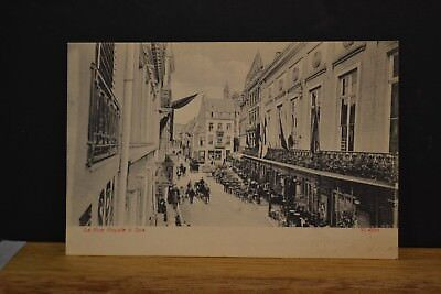 Cp  Ancienne Carte Postale Spa - Rue Royale