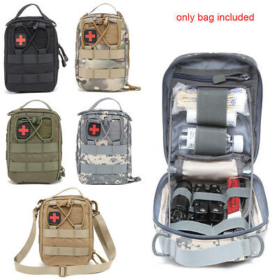 1000D Tactical First Aid Kit Survival EDC Molle EMT Bag IFAK Medical Pouch Sling