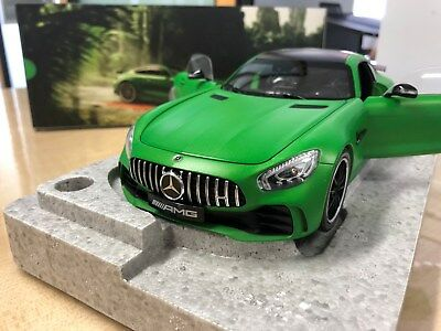 Mercedes Benz AMG GT-R, green hell magno, 1:18 Modell, green Beast, Norev