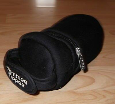 TOMMEE TIPPEE Black Insulated Baby Bottle Carry Bag Keeps Bottle Hot Or Cold